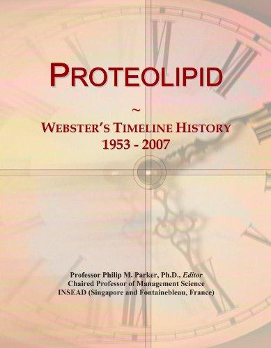 Proteolipid: Webster's Timeline History, 1953 - 2007
