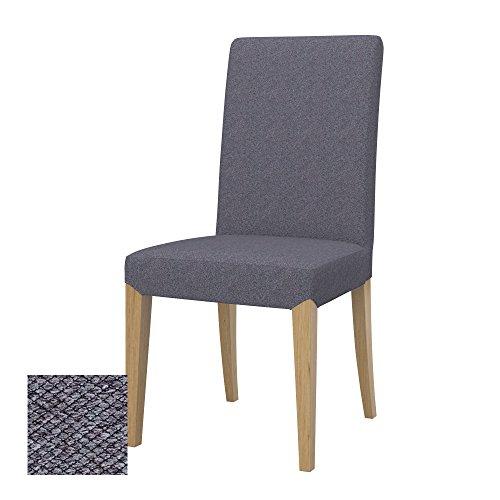 Soferia - IKEA HENRIKSDAL Funda Silla, Nordic Anthracite