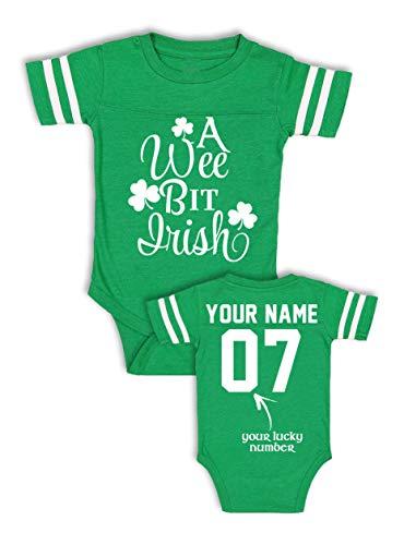A Wee Bit Irish Baby Shirt - Infant St Patricks...