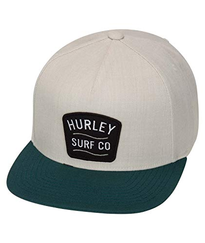 Hurley M Derby Hat Gorras, Hombre, Spruce Fog, 1SIZE