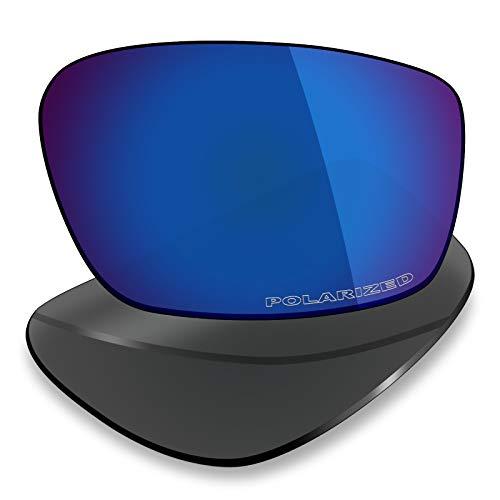 Mryok Ersatzgläser für Oakley Straightlink, Blau (Korrosionsschutz gegen Meerwasser polarisiert - Pazifikblau), Einheitsgröße