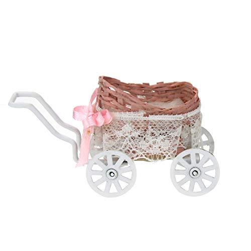 Rycnet Miniatur-Kinderwagen für Puppenhaus, Maßstab 1:12, Heimdekoration