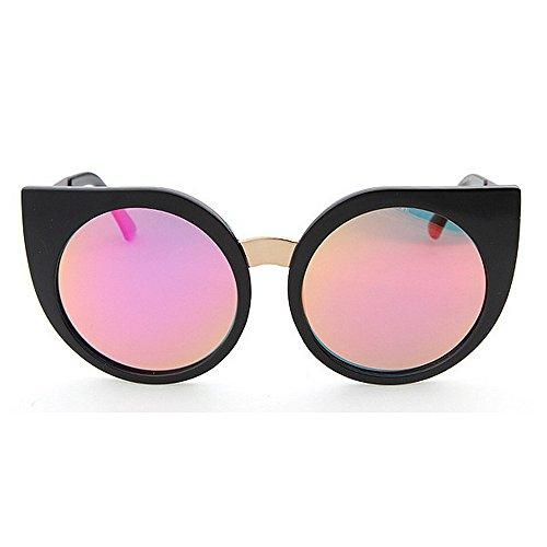 Belleashy Gafas de sol para mujer, estilo vintage, polarizadas 100% protección UV, para conducir, ciclismo, correr, pesca, golf, uso diario (color: púrpura)
