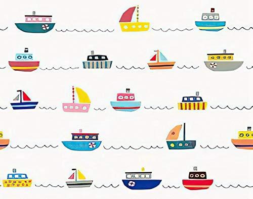 Y·JIANG Bonita pintura por números, barco náutico vela de mar marítima, lienzo acrílico, pintura al óleo por números, para adultos y niños, decoración de pared, 40,6 x 50,8 cm