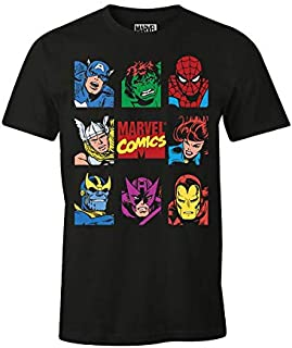 cotton division T-Shirt Marvel Uomo