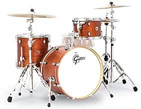 Gretsch Drums Gretsch CT1-J403-SWG Catalina Club 3 Piece Shell Pack 14x20 Bass, 8x12 Suspended, 14x14 Floor Tom Satin Walnut Glaze, inch