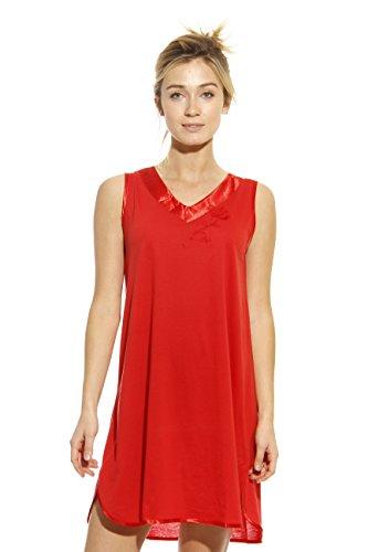1530-RED-L Dreamcrest Nightgown / Women Sleepwear / Sleep Dress