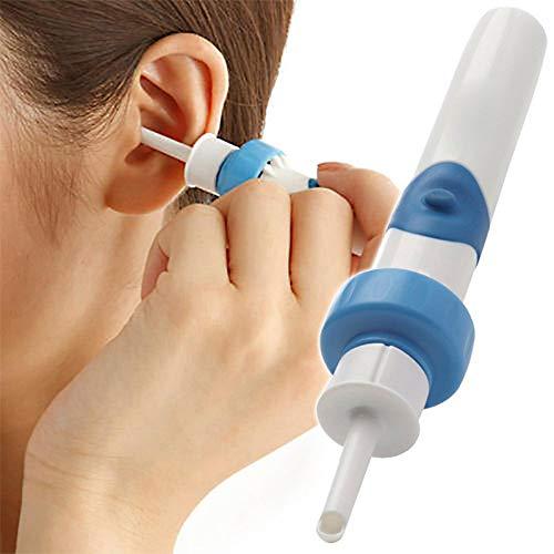 ZYQDRZ Elektrischesohrenschmalzentfernungswerkzeug, Automatische Ohrabsaugung Mit Led, Sichere Und Weiche OhrköPfe Typ 2, Staubsauger