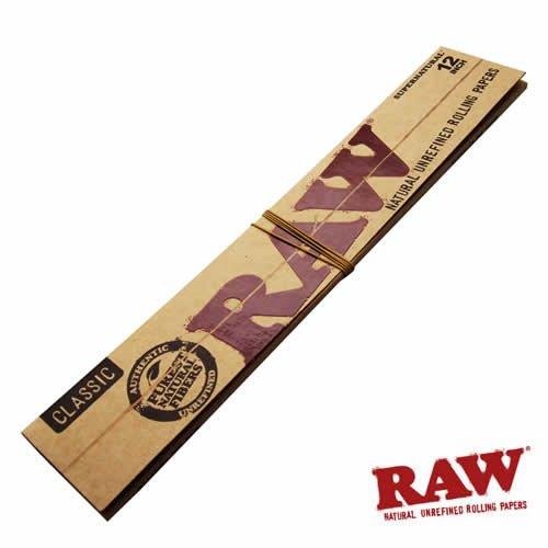 RAW(ロー) クラシック 12インチ ペーパー 20枚入り ×5個セット 手巻きタバコ 喫煙具