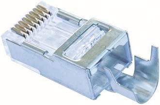 Platinum Tools 100023C EZ-RJ45 Shielded Cat5e/6, (External Ground). 10/Clamshell.(Pack of 10)