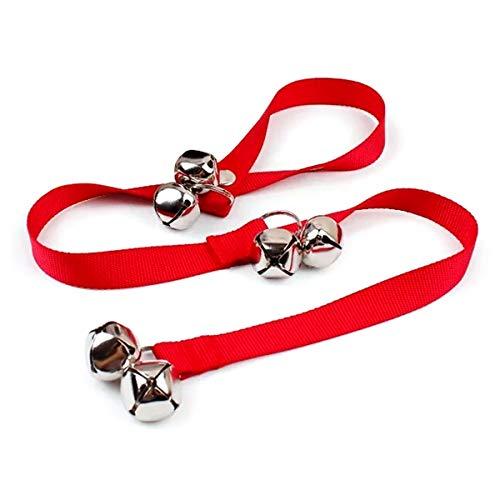 Cuerda para campanas de perro Shapl | Cuerda para timbre de mascotas para entrenamiento fácil de perro, cuerda, para entrenamiento para pomo de puerta