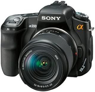 ソニー SONY デジタル一眼レフカメラレンズキット α200 レンズキット DSLR-A200K