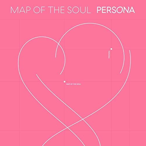 BTS MAP of the SOUL: PERSONA [Ver. 3] CD + PHOTOBOOK + Mini Book + Photocard + Post card + Clear Picket + Photo Film + Folded Poster +Extra Gift (Standee action figure & Hologram fotokaarten)