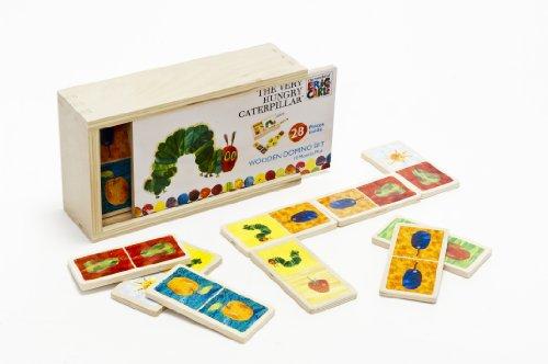 Unbekannt Kleine Raupe Nimmersatt Holz- Domino 10934 - Kleine Raupe Nimmersatt Holz- Domino