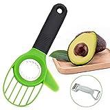 Nivlan Affettatrice per Avocado, 3-in-1 Avocado Strumento, Frutta Avocado Affettatrice, Ta...
