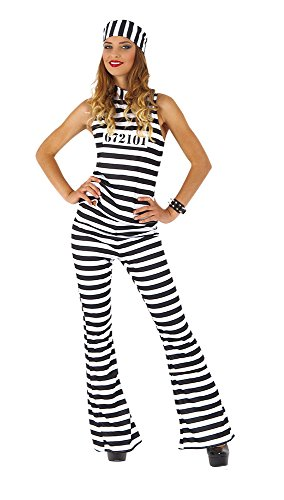 Rubie's Spain S8462 Gevangen kostuum, eenheidsmaat