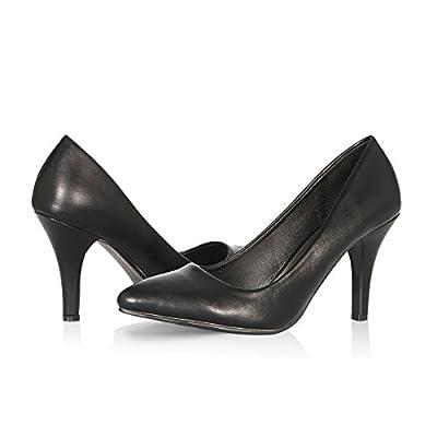 Yeviavy High Heels - Women's Pumps Stiletto Pointy Toed Dress Fashion Shoes JennaN