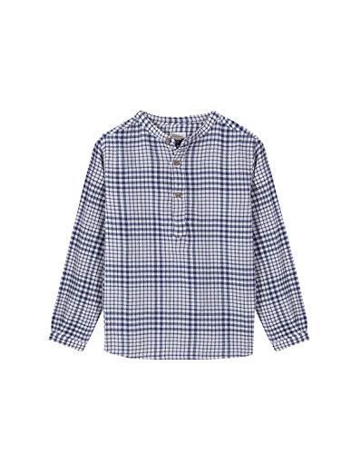 Gocco Camisa VILLELA Cuadros Shirt, Azul Medio, 43957 para Niños
