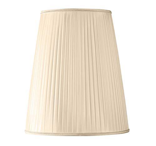 Lampenschirm Plissee Form Bistrot Ø 30 x 15 x 40 (Handgefaltet) Strohhalm