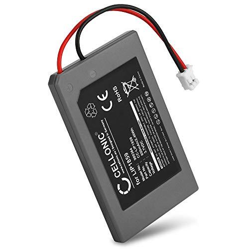 CELLONIC  Batteria LIP1859,LIP1472 Compatibile con Sony Playstation 3 SIXAXIS Controller (PS3 SIXAXIS CECHZC1E,CECHZC1H,CECHZC1J,CECHZC1U) Ricambio da 650mAh Sostituzione Batteria per Console Giochi