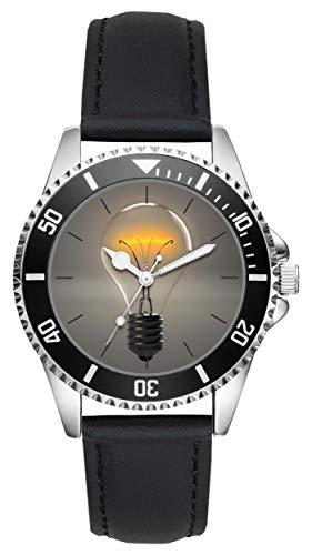 Geschenk Elektriker Elektroniker Elektro Techniker Meister Uhr L-20477