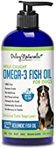 Wild Caught Fish Oil for Dogs - Omega 3-6-9, GMO-Free - Reduces Shedding, Supports Skin, Coat, Joints, Heart, Brain, Immune System - Highest EPA & DHA Potency - Only Ingredient is Fish - 32 oz