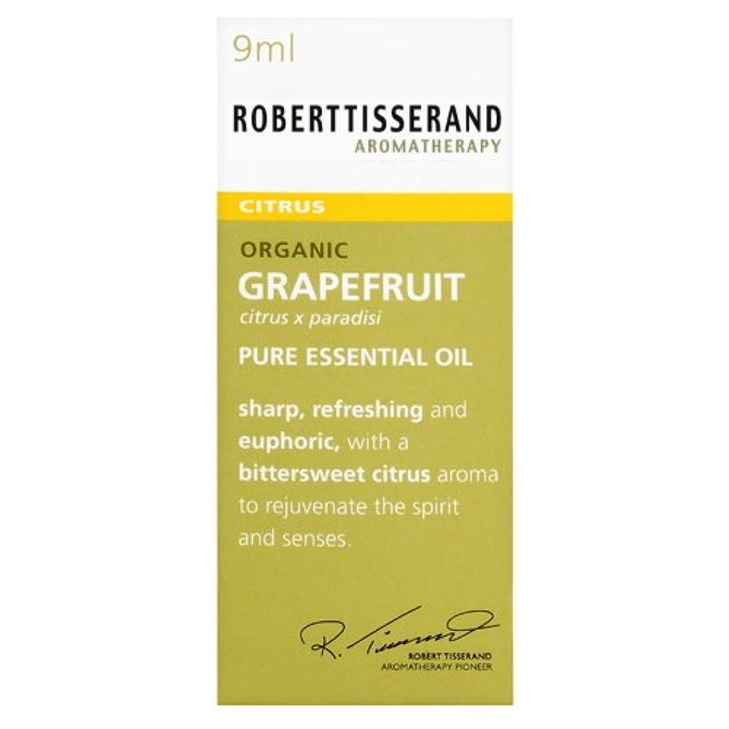 寄生虫修正広告ロバートティスランド 英国土壌協会認証 オーガニック グレープフルーツ 9ml