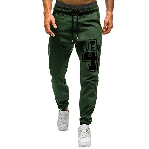 beautyjourney Pantalones de Jogging para Hombre Pantalones Cargo Pantalones Deportivos Pantalones Casuales Slim fit con cordón Pantalones de Entrenamiento de Cintura elástica