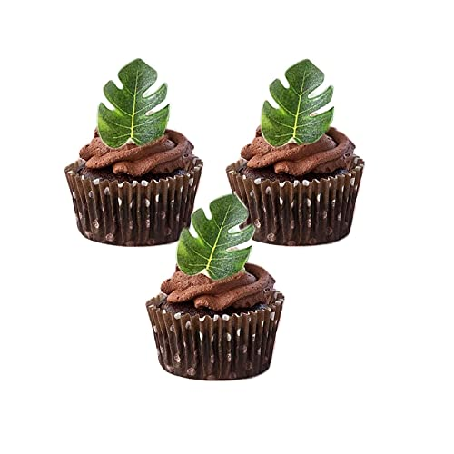 Leaf Cupcake Toppers