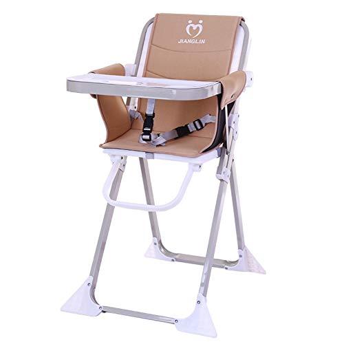 Chaise de bébé enfants à manger chaise pliable Portable Chaise bébé Hôtel Restaurant Enfants Table à manger chaiseA