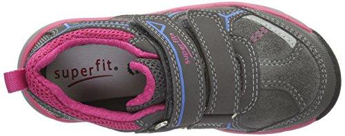 Superfit LUMIS 700411, Mädchen Sneakers, Grau, 32 EU - 2