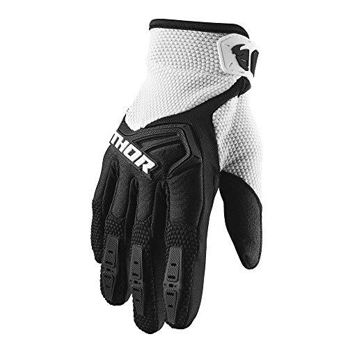 Thor MX Spectrum Motocross Handschuhe 2020 schwarz weiss