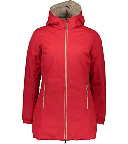 Icepeak Vinita Outdoor-Jacke praktische Damen Wende-Funktionsjacke Wander-Jacke Trekking-Jacke Rot, Größe:34