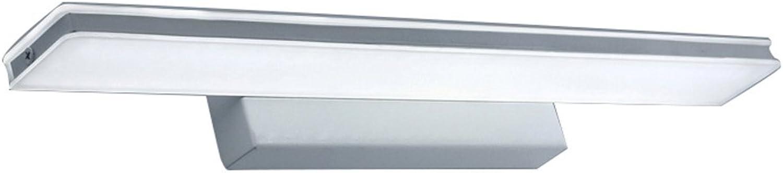 J-Q-D Wasserdichte Anti-Fog Led Spiegel Vorne Lichter, Moderne Einfache Acryl Bad Dresser Spiegel ( Farbe   Silber-60cm10w )