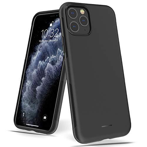 UNBREAKcable iPhone 11 Pro Hülle – Weiche, mattierte TPU Ultra-dünne Stylische iPhone 11 Pro Handyhülle für 5,8 Zoll iPhone 11 Pro [Fallschutz, rutschfest] – Matt Schwarz