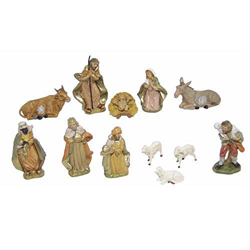 Alfred Kolbe Krippen Weihnachtskrippenfiguren, Bunt