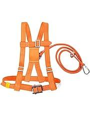 Kits de arnés de seguridad, arnés de detención de caídas de seguridad Altura completa del cuerpo Arnés de protección contra caídas Trabajo aéreo Protección de caídas Arnés