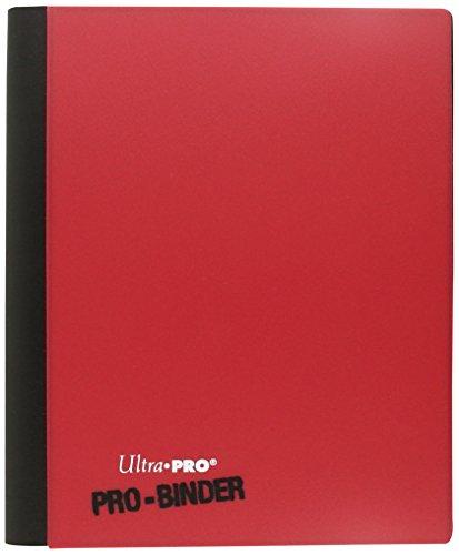Ultra Pro - Portfolios - Pro-binder - Blanc & Rouge - 20 Pages De 8 Cases
