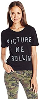 Goodie Two Sleeves Juniors Picture Me Rollin Graphic Tee