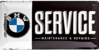 BMW Service licensed large metal sign 20