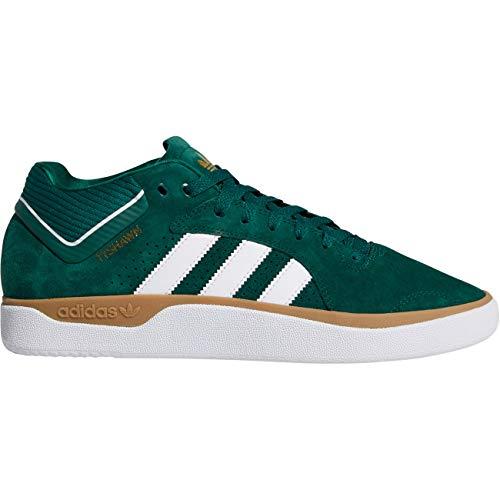 adidas Originals Tyshawn, Collegiate Green-Footwear White-Gum, 6,5