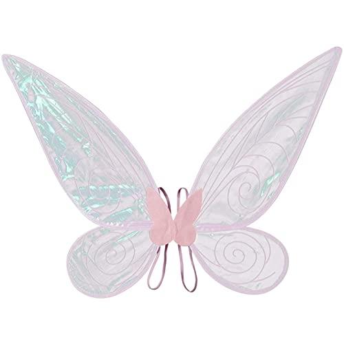 Alas de Hada de Mariposa - Alas de Hada de Mariposa Accesorio Disfraz diseo nico Mariposa Purpurina Mariposa Hada Halloween Favores de Fiesta de cumpleaos Da Festivo Juego de Roles