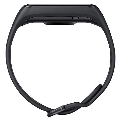 Samsung Galaxy Fit2 Nero con Accelerometro, Giroscopio, Monitoraggio Frequenza cardiaca, Tracker allenamento, Display 1.1