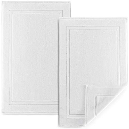 Alibi Bath Mat Floor Towel Set | 2 Pack of