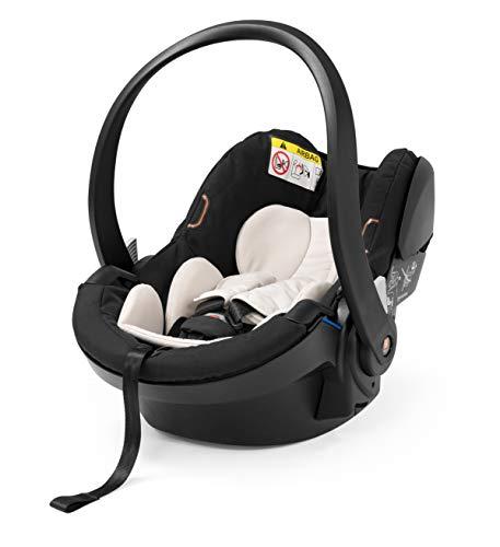 STOKKE® iZi Go Modular X1 by BeSafe - Autokindersitz für Babys von 0-12 Monate - kompatibel mit allen STOKKE® Kinderwagen-Chassis-Modellen - Farbe: Black