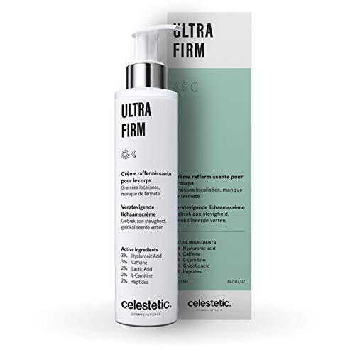 UltraFirm - Crème raffermissante pour le corps à la Cafféine, L-Carnitine et Acide Glycolique - 200ml - Celestetic Cosmeceuticals - Belgium