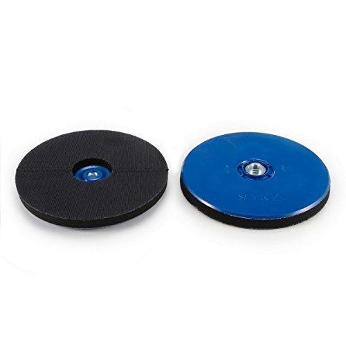Disco Lija Adhesivo 225 | Plato Apoyo Velcro-Papel