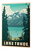 WallAdorn World Tour Lake Tahoe Eisen Poster Malerei