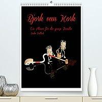 Bjork van Kork / Familienplaner (Premium, hochwertiger DIN A2 Wandkalender 2022, Kunstdruck in Hochglanz): Ein Planer fuer die ganze Familie (Familienplaner, 14 Seiten )
