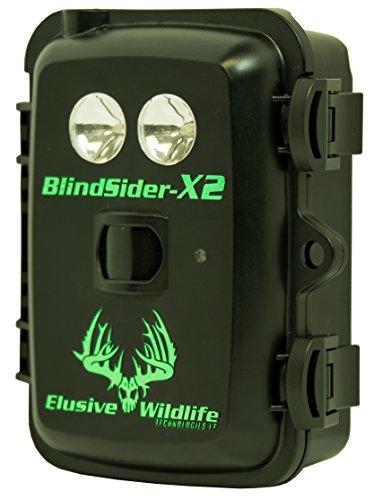 Elusive Wildlife Blind Sider X2 Motion Activated Feeder & Bait Light (Green)
